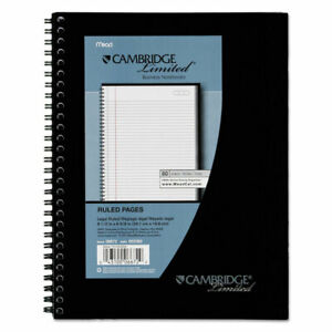 Mead Side Bound Ruled Meeting Notebook Legal Rule 9 1 2 X 6 5 8 80 Sheets 06672