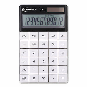 Innovera 15973 Large Button Calculator 12 digit Lcd