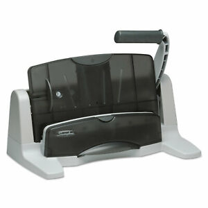 Swingline 40 sheet Lighttouch Two to seven hole Punch 9 32 Holes Black gray