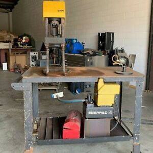 Parker Karrykrimp 2 Portable Hose And Fitting Crimper Enerpac 1 1 8 Hp Motor