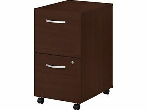 Bush Business Furniture 2 drawer Vertical File Cabinet Locking Letter legal