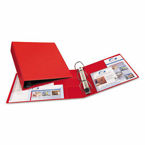 Avery Heavy duty Binder With One Touch Ezd Rings 11 X 8 1 2 2 Capacity Red
