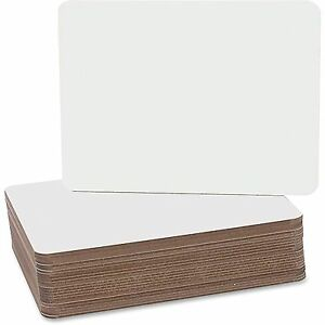 Flipside Products Dry Erase Board 9 1 2 x12 24 pk White 12064