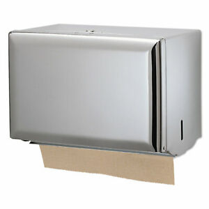 San Jamar Singlefold Paper Towel Dispenser Chrome 10 3 4 X 6 X 7 1 2 T1800xc