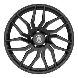 4 Hp2 18 Inch Gloss Black Rims Fits Acura Tl Type S Except Brembo 2007 2008