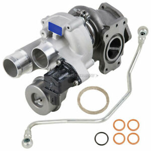 For Mini Cooper Countryman New Turbo Kit With Turbocharger Gaskets Oil Line Dac