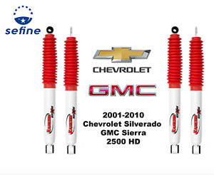 Rancho Rs5000 Shock Set For 2001 2010 Chevy Silverado Gmc Sierra 2500hd 4wd