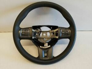 Steering Wheel With Switches Fits 14 15 16 Dodge Dart Oem