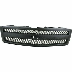 New Black Grille For 2007 2013 Chevrolet Silverado 1500 Gm1200578 Ships Today