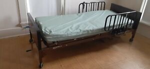 Barely Used Semi electric Hospital Bed Complete With Mattress