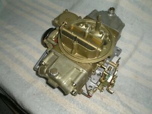 1968 Ford Mustang Shelby Gt 350 Holley Carburetor 4118 Carb Road Racing