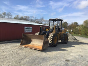 2006 John Deere 544j 4x4 Orops Wheel Loader W Coupler Only 6400 Hours
