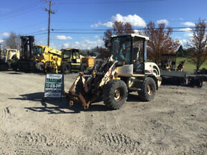 2002 Terex Skl824 4x4 Compact Wheel Loader Needs Work Please Read Description