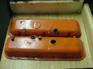 Chevy Chevelle Camaro Corvette Valve Covers 454 427 396 402 Gm Bbc