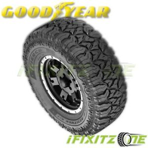 1 Goodyear Fierce Attitude M t Mud Tires Lt285 75r16 126p On off road M s Rated