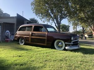 1950 Ford 2 Door Woody