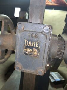 Dake Arbor Press 1 1 2 Ton Vintage