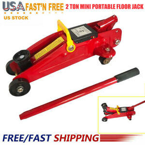 2 Ton Mini T30 Portable Floor Jack Vehicle Car Garage Auto Small Hydraulic Pf