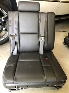 Seats 3rd Row Black Leather New Never Used Removed From 2010 Gmc Denali