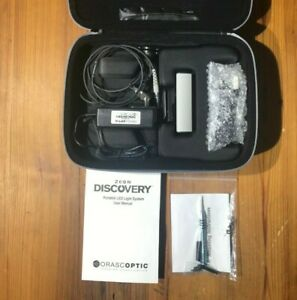 Orascoptic Zeon Discovery Led Headlight dental Surgical Loupes w Case
