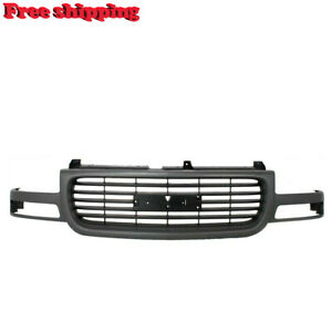 New Front Grille Assembly Gray Frame Black Insert For 2000 2006 Gmc Yukon Xl 150