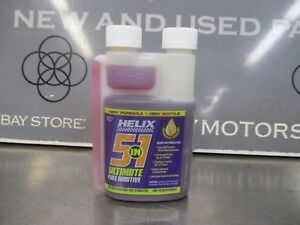Helix 5 In 1 Fuel Treatment Additive Stabilizer 8 Fl Oz 16 Gallon Treatment
