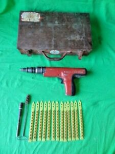 Hilti Dx 350 Powder Actuated Fastening Systems Nail Gun Tool 130 Rounds Case