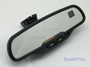 Gm 03 06 Suburban Tahoe Yukon Denali Temp Compass Gntx 261 Rear View Mirror