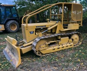 International 500 Bulldozer 6 Way Blade Excellent Condition