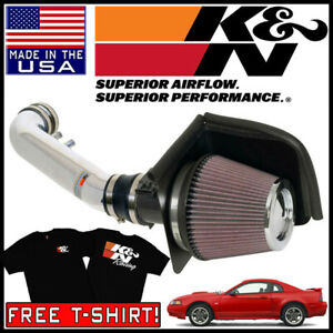 K N Typhoon Cold Air Intake System Fits 2002 2004 Ford Mustang Gt 4 6l V8