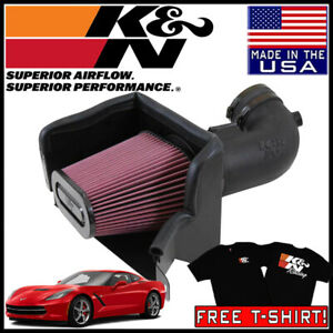 K N Fipk Cold Air Intake System Fits 2014 2015 Chevy Corvette 6 2l V8