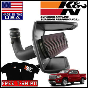 K N Aircharger Cold Air Intake System Fits 2015 2016 Gmc Canyon 3 6l V6