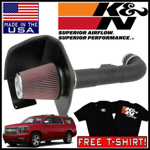 K N Fipk Cold Air Intake System Fits 2015 Chevrolet Suburban 5 3l V8