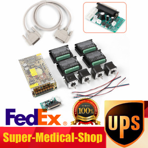 Cnc 4 axis Kit stepper Motor Controller Nema17 Stepper Motor Power Supply