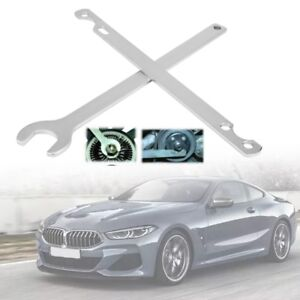 32mm Fan Clutch Nut Wrench And Water Pump Holder Tool Kit Removal For Bmw Silver