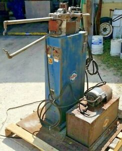 10kva Miller Portablespot Welder On Stand W cooler Model Mps 10 aft 460v