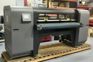 Used Hp Scitex Fb550 Printer 64 Wide Format Uv Curable Flatbed