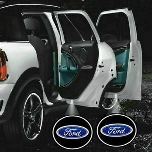 2x Wireless Shadow Laser Projector Logo Led Door Light For Ford Usa