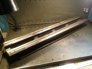 South Bend 36 Long Bench Top Lathe Parts Bed Braze Repaired Ways Used Good