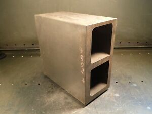 10 X 10 X 5 Machinist Mill Set up Inspection Footed Hollow Box Parallel Used