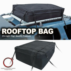 Waterproof Rooftop Travel Storage Rear Trunk Cargo Bag Luggage Carrier Fit Jeep