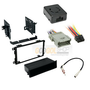 Car Radio Stereo Install Kit Chime Warning Wire Harness For 2003 06 Silverado