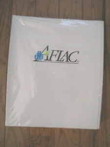 Aflac Branded Agent Supply Presentation File Folders 25 Pack White School Nos