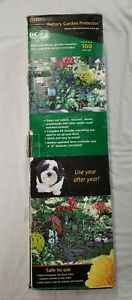 Zareba Battery Powered Garden Protection Kit Electric Fence Charger New