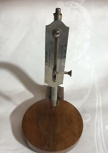 Antique 19th C French Micrometer Barthelemy Ponthus Therrode Co