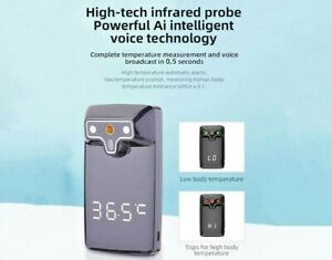 Wall Mount Digital Infrared Thermometer Automatic Non Contact Forehead Adult