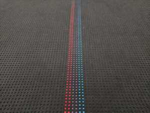 Bmw M Texture M Stripe High Quality Reproduction Fabric 58 Seat Cloth M3