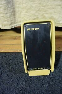 One Topcon Brand Model Sonic Tracker Ii For Use With System 5 Sas Compatible