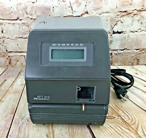 Acroprint Att310 Time Clock Unit Only Need Key Cards And Ink Not Punching Parts