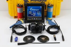 Primayer Eureka 3 Primetouch Correlator System Water Leak Detector Locator Seba